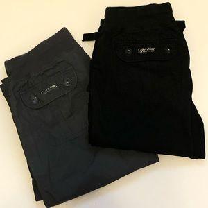 Calvin Klein Performance Cargo Pants Bundle